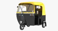 auto rickshaw 3d max