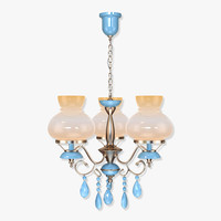 mateo hy785 chandelier 3d model