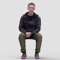 3ds max realistic human
