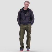 Nick Casual Standing 1 - 3D Human Model