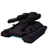 tank sci fi 3d 3ds
