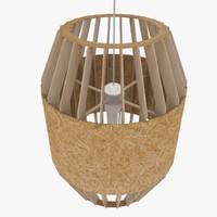 3dsmax plywood chandelier