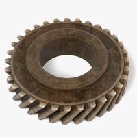 3ds max gear wheel