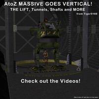 atoz massive goes vertical 3d model