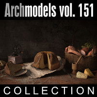 3d model archmodels vol 151