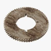 3dsmax gear wheel
