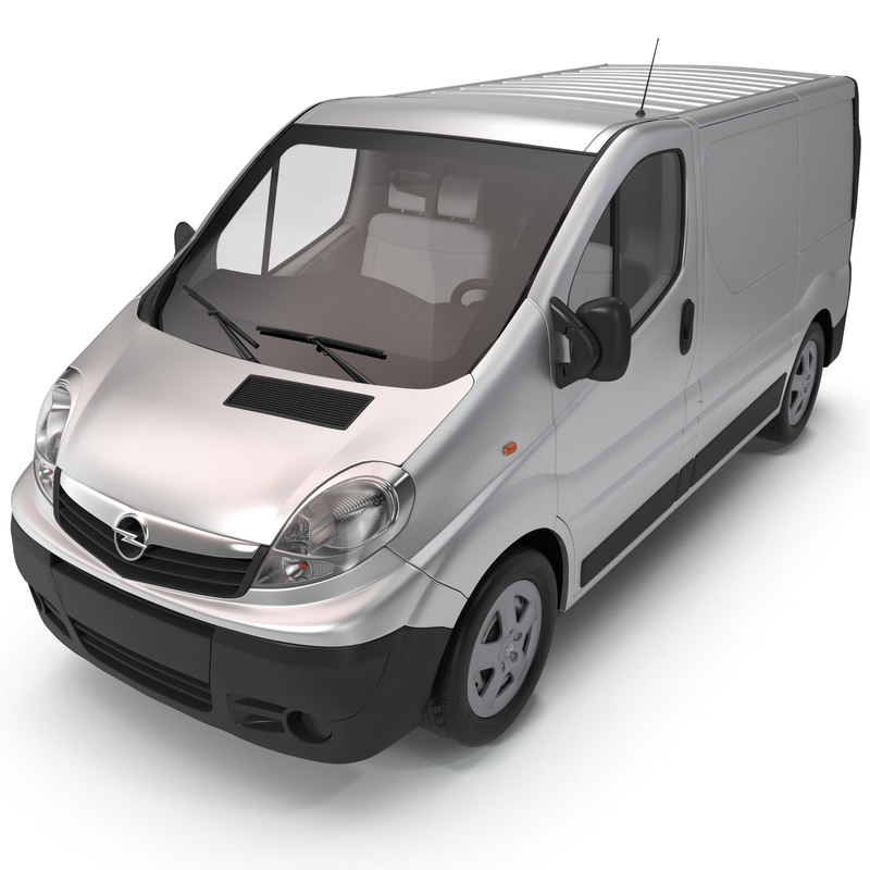 Opel Vivaro 2013 3d model 01.jpg