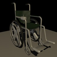 c4d wheelchair wheel chair