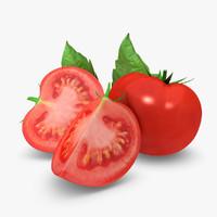 3ds max realistic tomato