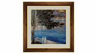 Landscape Crimea-art painting