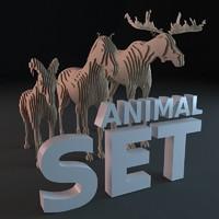 cardboard animal max