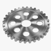 obj gear wheel