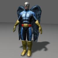 3d birdman heroe model