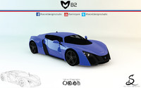 Marussia B2 by Secret Designs