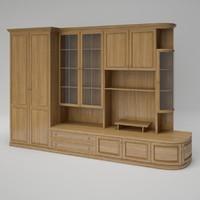 maronese cabinet 3d model