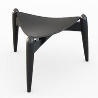 3d tale stool model