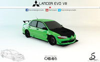 Mitsubishi Lancer Evo VIII by Secret Designs