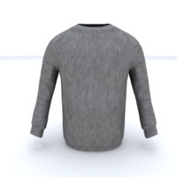 sweater 3d obj