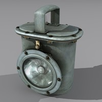 flashlight s lantern 3d model