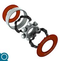 free bearing 3d model