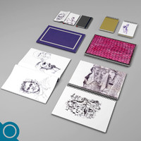 3d notebooks notes stationery