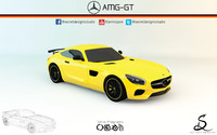 Mercedes-Benz AMG GT by Secret Designs