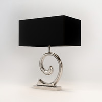 eichholtz la mode table lamp 3d 3ds