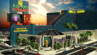 3d model of mgm grand building