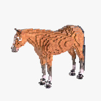 max horse voxels