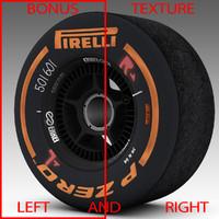 3dsmax pirelli tyre enkei