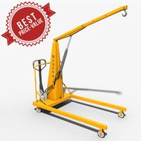 3d model hand operative crane