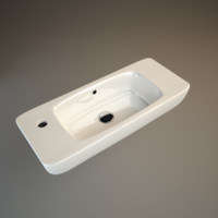d-code duravit washbasin 3d 3ds