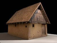 Medieval Wooden house