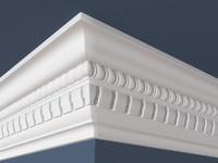 decorative molding 3d model