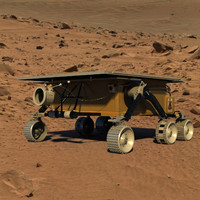 max sojourner rover