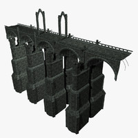 stone bridge 3d max