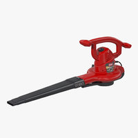 electric leaf blower toro 3d model