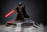 3d model darth vader