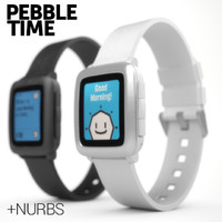 pebble time 3d max