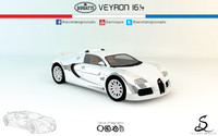 Bugatti Veyron 16.4 by Secret Designs