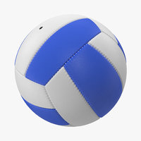 volleyball ball 2 3d model