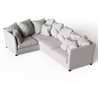 3ds max flexform victor sofa