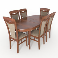 3d dining group sonata chair