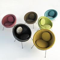 LinaBoBardiBowl Chair Set
