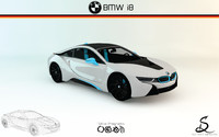 3d model of bmw i8 designs