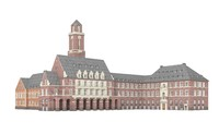 3d model city hall bottrop