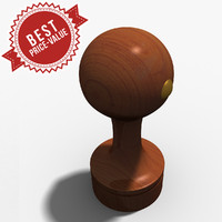 rubber stamp circle 3d model
