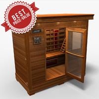 sauna saun 3d model