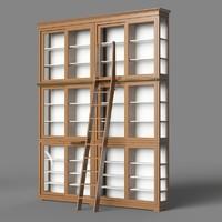 morelato biedermeier library 3d model