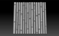 obj bamboo cnc bas-relief